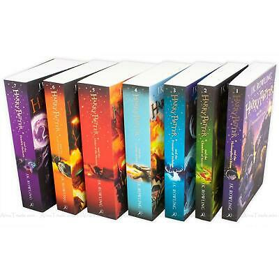 Harry Potter The Complete Collection by J.K. Rowling Children 7 Books Box Set 7