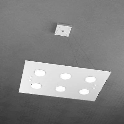 SOSPENSIONE DA CAMERA da letto lampadario moderno in vetro ...