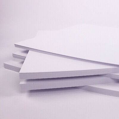 A6 White Card Postcard Size Blank Card Crafting Thick Card 50 sheets 300gsm 3