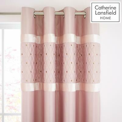 Catherine Lansfield Sequin Cluster Blush Luxury Duvet Cover Set or Accessories 9