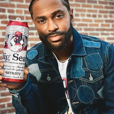 Big Sean 2020 Limited Edition Detroit 2 x Budweiser Empty Can Collectors Item