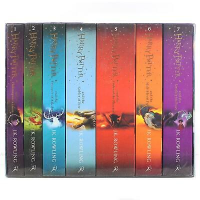 Harry Potter The Complete Collection by J.K. Rowling Children 7 Books Box Set 3