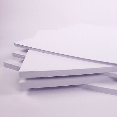 White Card Thick 300gsm 380 micron A5 A4 A3 SRA2 Card Making Smooth Craft 6