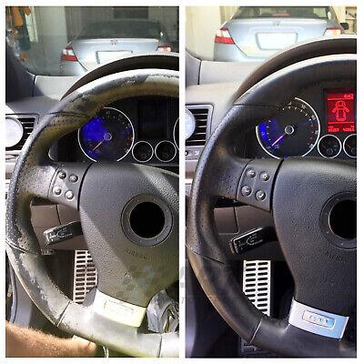 Kit de restauración para volante de cuero con colorante + fijador de color 2