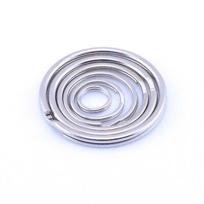 Split Rings Key Ring 10mm 15mm 20mm 25mm 30mm 35mm Pack Size 10 - 1000 - Keyring 2