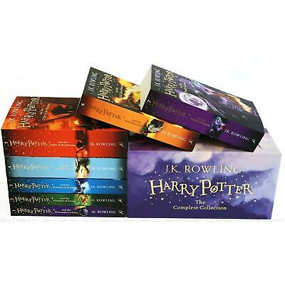 Harry Potter The Complete Collection by J.K. Rowling Children 7 Books Box Set 5