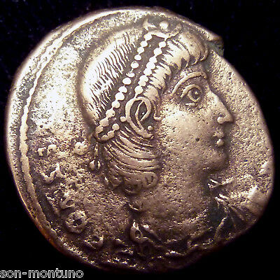ONE Authentic Ancient ROMAN EMPIRE BRONZE COIN - Genuine Antique from 240-410 AD 3