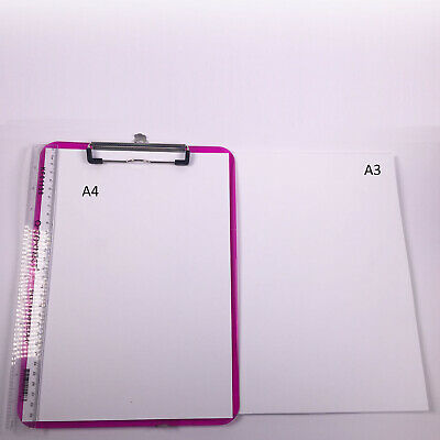 White Card Thick 300gsm 380 micron A5 A4 A3 SRA2 Card Making Smooth Craft 5