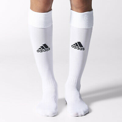 adidas Football / Rugby Socks Milano Children White Uk Sz4 Boys Junior Kids 2