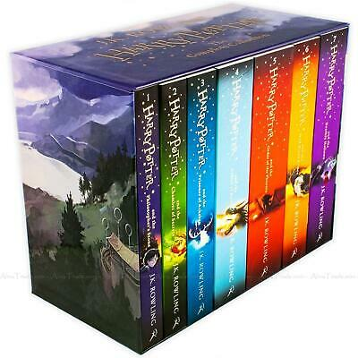 Harry Potter The Complete Collection by J.K. Rowling Children 7 Books Box Set 6