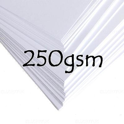 A2 A3 A4 A5 A6 WHITE CARD STOCK BLANK TAGS CRAFT PAPER JOB DECOUPAGE 120-300gsm