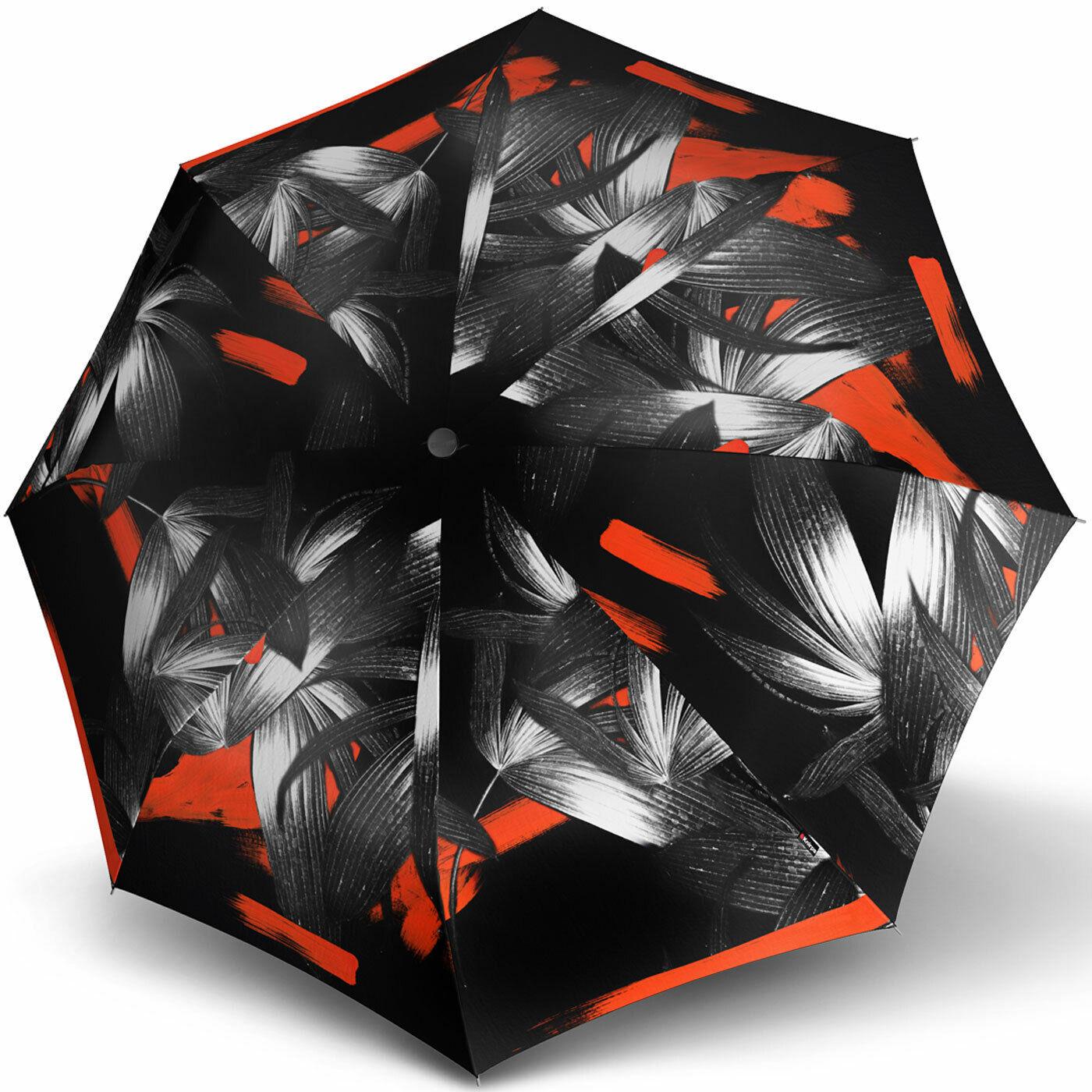 Knirps Regenschirm Damen Taschenschirm Automatik Large margharita pink UV Schutz