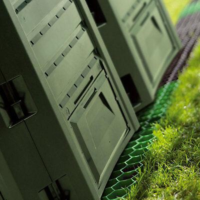 Schnellkomposter 380 L Gartenkomposter Komposter Thermokomposter Grün Konverter