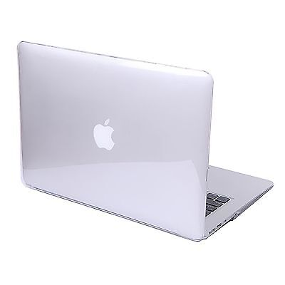 the best attitude ef2c2 637ae GLOSSY CLEAR HARD Shell Case+Keyboard Cover MacBook Air 11