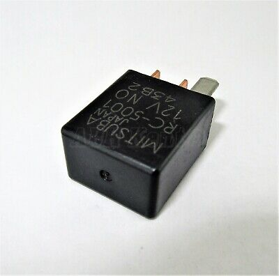 Honda//90-12 4-Pin Multi Usage Noir relais RC5001 RC-5001 12 V No Mitsuba Japon