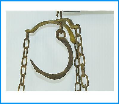 Antik Steelyard Balance Beam Messing Kupfer Hänge Waage With 2 Pfannen und Arm 4