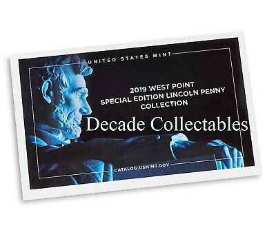 2019 W Lincoln Penny Preminum PROOF West Point Struck #1 of 3 this year PRESALE 4