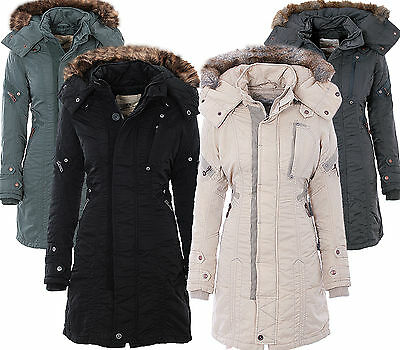 große Vielfalt Stile süß professioneller Verkauf JET LAG DAMEN Winter Jacke Mantel Parka Sw61A Outdoor Winterjacke Lange  Jacke