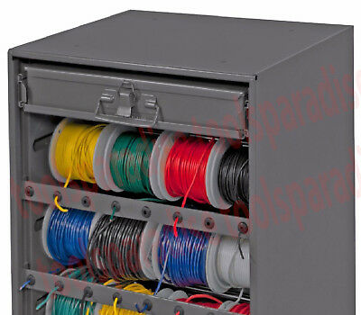 AUTO HOME ELECTRIC WIRE ROLL WIRING SPOOL Metal Storage ... Wiring Spool on
