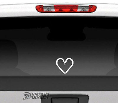 Fish Hooks Heart Decal Vinyl Sticker Cars Windows Boats Walls Buy 2 Get 1 Free