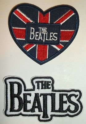 The BEATLES Embroidered Patch Patches~Many Versions~Quality~Iron on Sew~Collect 3