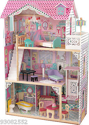 Annabelle Dollhouse by Kidkraft - Wooden Doll House ~ideal for Barbie Dolls 2