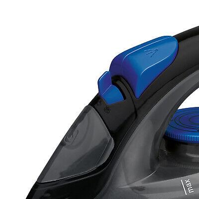 Plancha de vapor vertical para ropa suela acero inox antigoteo 7 funciones 1800W 9