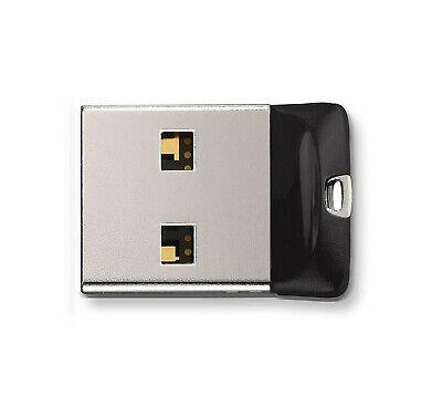 SanDisk Cruzer Fit 8GB 16GB 32GB 64GB SDCZ33 USB 2.0 Mini Flash Drive Retail Lot 4