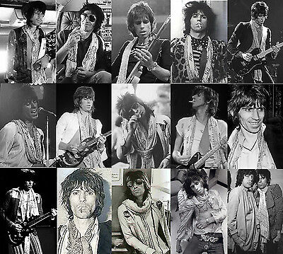 Keith Richards Style Scarf - Keef Rolling Stones Scarves 2