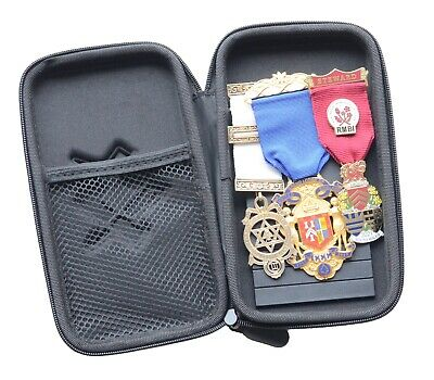 Masonic Jewel Holder by 94nine with new Zip Case 2