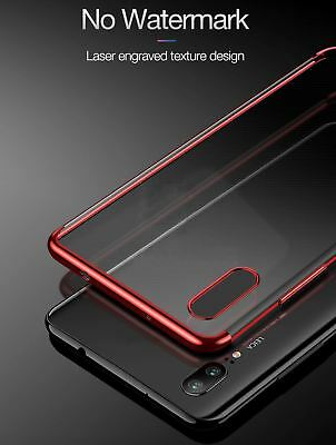 For Huawei P20 Pro P Smart Stylish Hybrid Shockproof Plating Case Silicone Cover 2