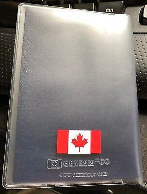 CANADA PASSPORT COVER  Clear Plastic Vinyl 2