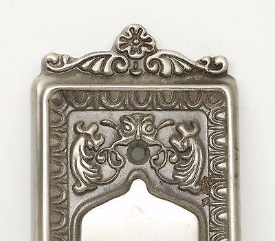 Single Ornate Knob With Matching Plate 3