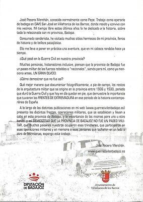 MOCHILA Y JARA, Vestigios de la Guerra Civil en la Provincia de Badajoz 2