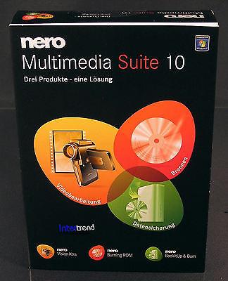 nero multimedia suite 10 vollversion