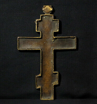 Antique Large Cross – 18th century - Northern Europe 4