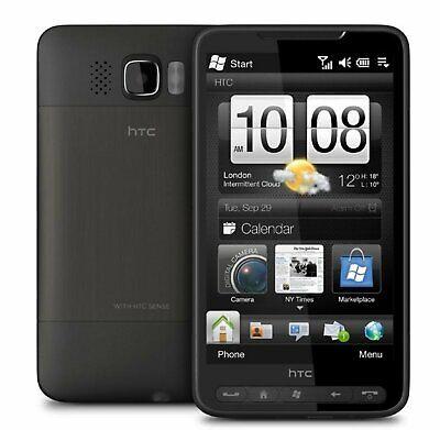 HTC HD2 Leo - Black (Unlocked) GSM 3G WiFi Windows Mobile Touch Smartphone 6