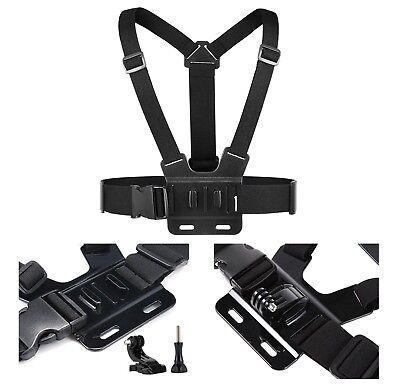 Head Wrist Strap Suction Cup Mount Camera Kits for SJCAM Xiaomi Yi Eken H9 Gopro 6