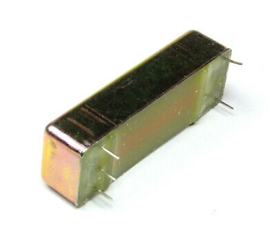 QTY 5 ADAMS /& WESTLAKE AWCD 26117 DPDT-NC 12VDC MERCURY WETTED REED RELAY