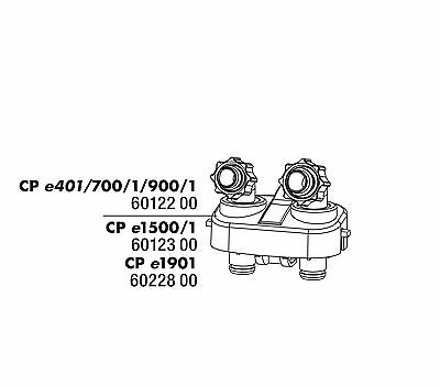 JBL Schlauchanschlußblock für e401/700/701/900/901/1500/1501/1901 Ersatzteile 2 • EUR 10,60