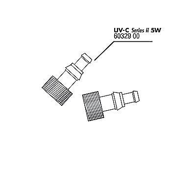 JBL  UVC Ersatz  Tüllen für UV-C 5W (2x) ohne Dichtung 2