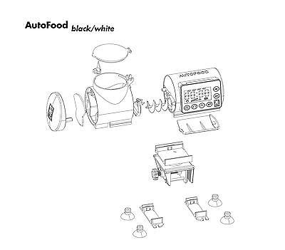 JBL AutoFood WHITE  Futterautomat für Aquarienfische 3