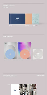 THE BOYZ [THE ONLY] 3rd Mini Album OFF AIR CD+P.Book+Card+Calendar+Frame+Sticker