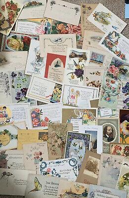 Used & Unused. Lot of 50+ USA Vintage Postcards,1900- 1950s.We ❤️ Our Customers! 6