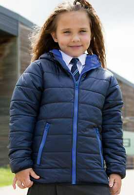 RESULT Kids Ages 2-14 - Coat Jacket with Hood, Insulated Windproof Showerproof * 4