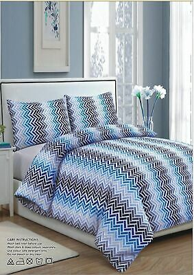Luxury 100% Egyptian Cotton Printed Duvet Cover Sets Bedding Sets All Sizes 2