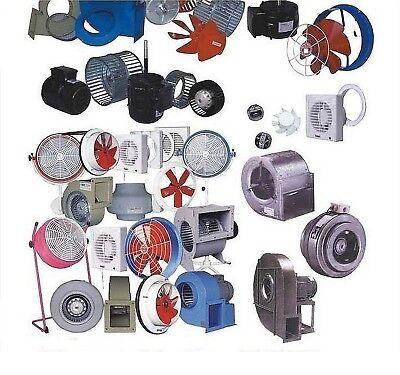 Extracteur d'air Industriel Radial VENTILATEUR CENTRIFUGE Aspiration ventilation 4