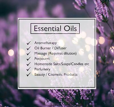 ESSENTIAL OILS Aromatherapy Natural Pure Organic Essential Oil Fragrances 10ml 3