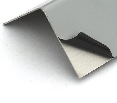 VA-Winkelblech 2000mm Eckschutz Ecken Schutz Kantenschutz Edelstahl-Winkel V2A