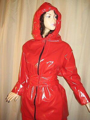 Lackanzug, Hosenanzug,Saunaanzug, Zweiteiliger Anzug,Vinylsuit,Saunasuit 12